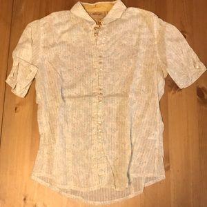 Wrangler pearl button shirt